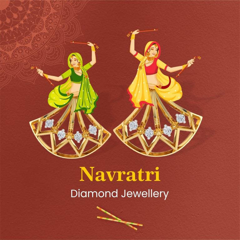 This Navratri, Shine With Glittering Outfits & Diamond Jewellery From Kisna